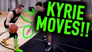 How To: Top 3 Kyrie Irving NASTY Finishing Moves | Basketball Scoring Tips