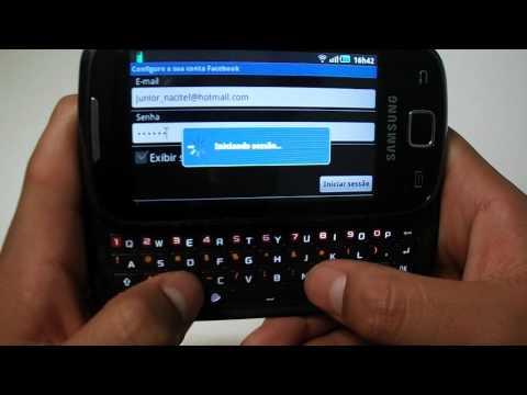 Review : Samsung Galaxy 551 [PT-BR]