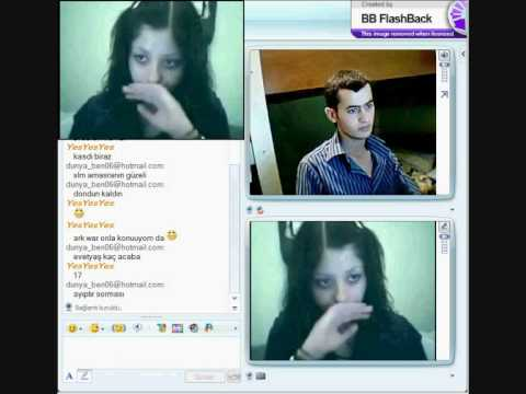 msn webcam şakası komik