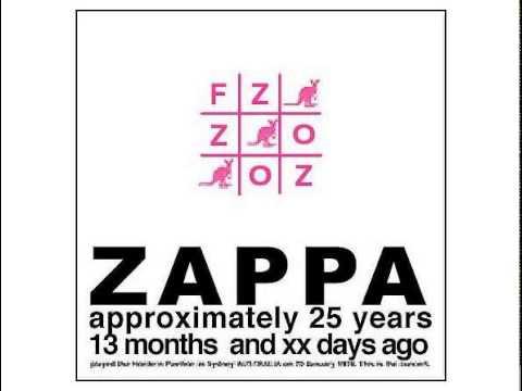Frank Zappa - Hordern Intro (Incan Art Vamp)