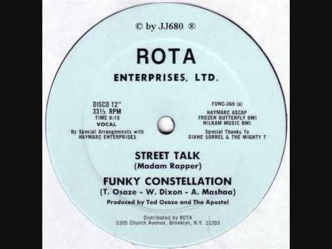 Funky Constellation - Street Talk (Madam Rapper)