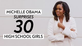 Michelle Obama and Oprah Surprise 30 High School Girls | Oprah Mag