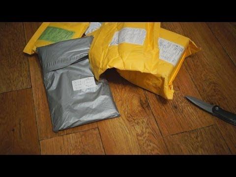 Посылка с алиэкспресс с одеждой