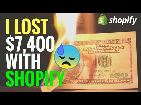 BIG Mistakes - How I Lost $7,400 With Shopify AliExpress Dropshipping (THE TRUTH)