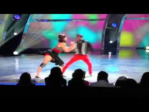 Eliana Girard and Cyrus 'Glitch' Spencer -- Broadway SYTYCD 7.11.2012