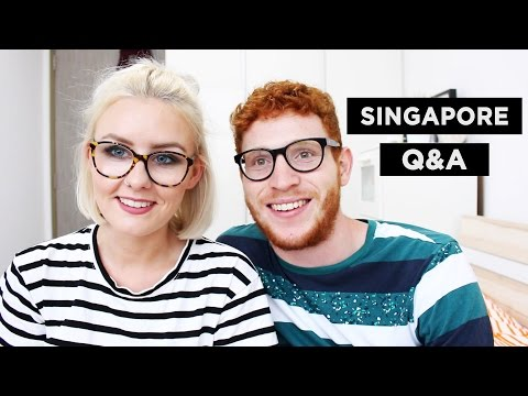 Q&A | EXPAT LIFE IN SINGAPORE & SPEAKING SINGLISH!?