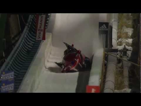 American bobsled crashed in Calgary