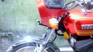 Yamaha RX K 1982 (RX K) Vs RX King 1990 (standard modif)