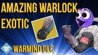 THE OP WARLOCK EXOTIC IS HERE! KARNSTEIN ARMLETS - DESTINY 2