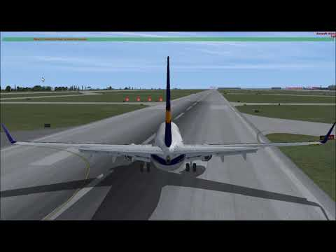 Flight Simulator X Online Gameplay: Landing and Takeoff