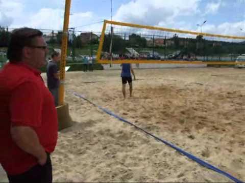 Licealiada - Siatkówka Plażowa Chłopców - Półfinał Strefowy Wałbrzych 8 Czerwca 2011