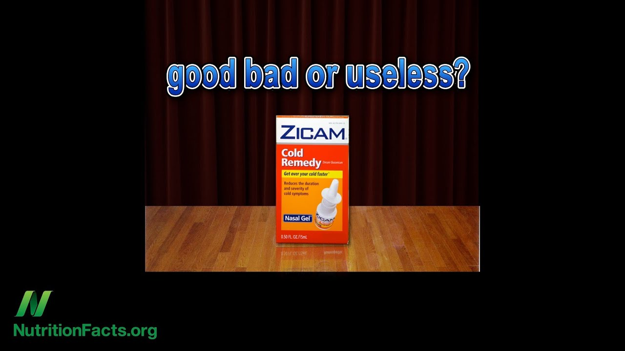 Zinc Gel for Colds?