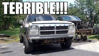 THESE OLD DODGE RAM CUMMINS TRUCKS $UCK!!!!  NEVER BUYING ANOTHER ONE EVER!!!!