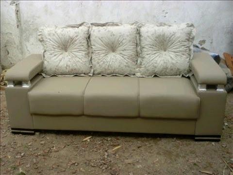 fazendo sof com madeira de pallet parte 1 montagem do grande youtube. Black Bedroom Furniture Sets. Home Design Ideas