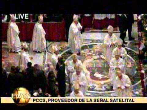 Holy Mass with Pope Benedict XVI (Dec2010)