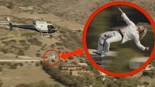 EXTREME 1,000 FOOT HELICOPTER ROPE LADDER!