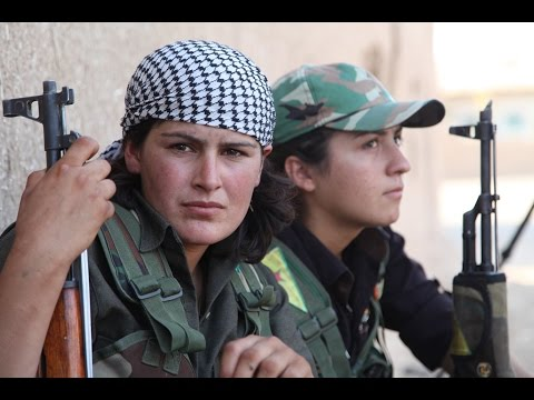 Female Kurdish Fighters Are Beating ISIS Jihadists