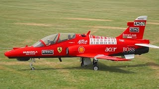 GIANT BAE HAWK 100 FLY EAGLE JET SCALE RC MODEL / RAGOW 2018