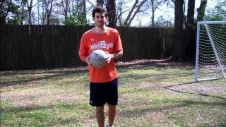 Soccer Tip - How to Juggle a Soccer Ball with your Thighs by Online Soccer Academy
