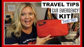 Travel Tips ~  Car Essentials | May 2018