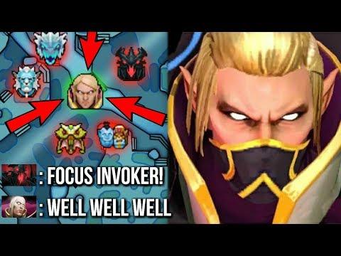 EPIC SumiYa The Best Invoker vs Hard Team Brutal Combo Crazy Game Comeback WTF Dota 2