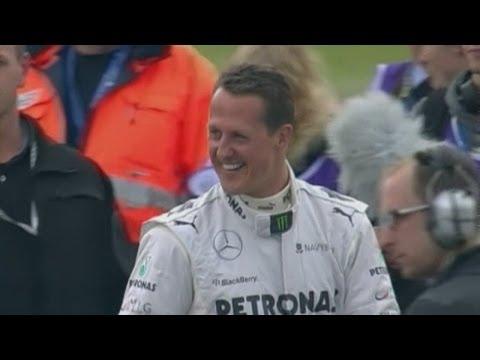Michael Schumacher: 'Slight improvement but still critical'