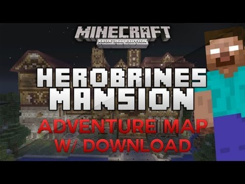 NEW Hypixel's Herobrine's Mansion Adventure Map |Minecraft Xbox 360| w/ Download (HD)
