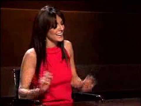 La cantante Merche, en Canal Sur 2