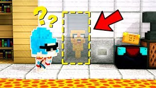 ¡LA HABITACIÓN SECRETA DE MINECRAFT EL ESCONDITE! 😂 IMPOSIBLE ENCONTRARNOS EN EL ESCONDITE  #25