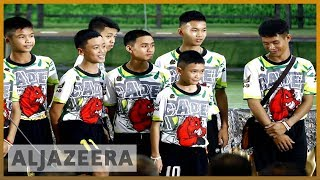 🇹🇭 Thai boys go home after 'miracle' rescue from cave   Al Jazeera English
