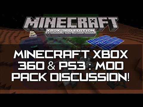 Minecraft Xbox 360 & PS3 : TU16 - Mods Discussion! | Console Edition (Galacticraft e.t.c)