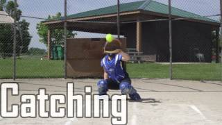 Sara  Campagna 14U Softball Skills Video