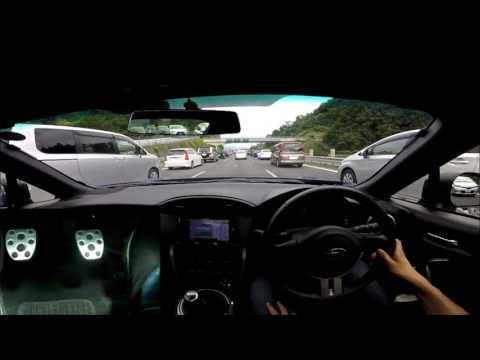〔MT車〕気持ちよく合流からの渋滞(´;ω;`)シンドカッタ・・・・
