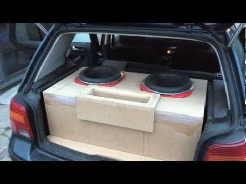 2 x ORION HCCA 12'' SUBS  1 x SUNDOWN SAZ-4500D AMP
