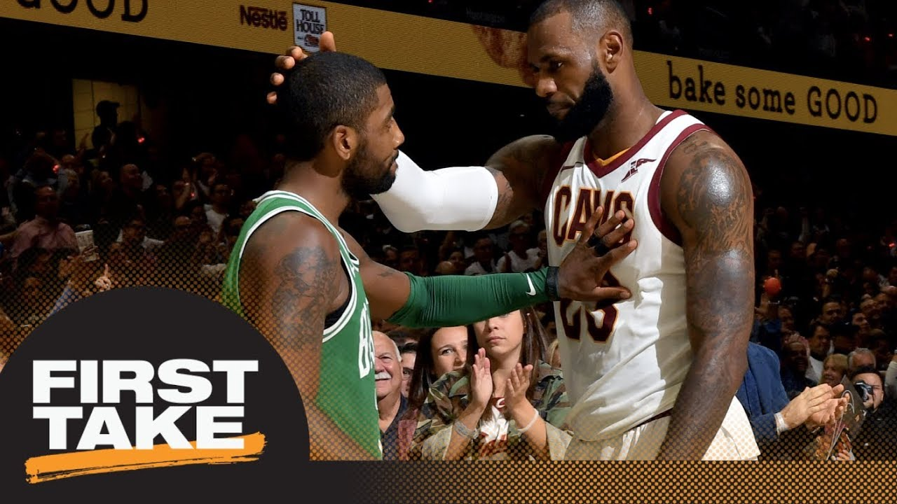 First Take reacts to Kyrie Irving threatening knee surgery if not traded | First Take | ESPN