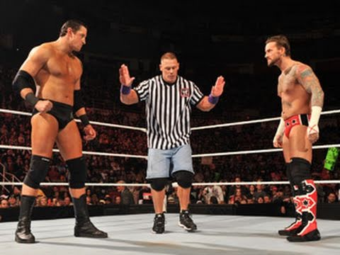 Raw: CM Punk vs. Wade Barrett