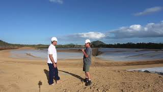 Surf Lakes Wave Pool Construction Update with Occy