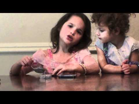 Six Year old Puts Make-Up on her Sister!  (WK 2)