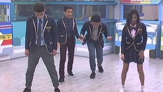 "PBB 737 Teen Big 4 sing ""Win The Fight"""