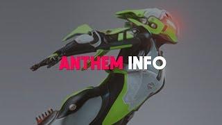 Anthem   NEW INFO! Sniper Rifles, Storm & Interceptor Theories