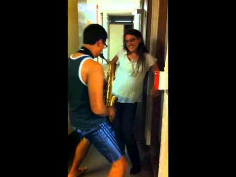 Ucsd's Sexy Sax Man video