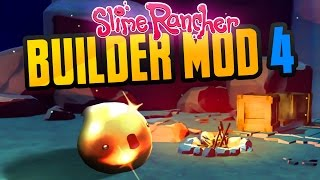 GOLD SLIME THAT DOESN'T FLEE in Slime Rancher Betterbuild Mod Part 4 - Slime Rancher Mod Gameplay