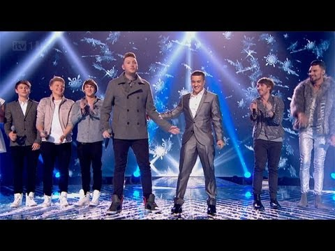 The Finalists Christmas Mashup - The Final - The X Factor UK 2012