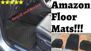 Amazon Car Floor Mats! BEST Car Floor Mats?!