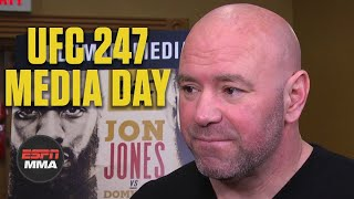 Dana White would love to see Jon Jones fight at heavyweight | UFC 247 | ESPN MMA