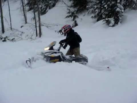 Mark Freeman 408 - Sledding / Snowmobiling - Too Much Snow!