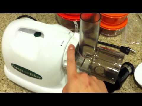 How to set up the Omega j8004 juicer