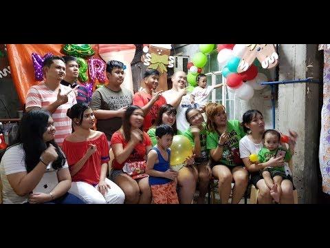 part 2 of The BALDOVINO's Celebrating Christmas (Filipino Family Tradition) MP3