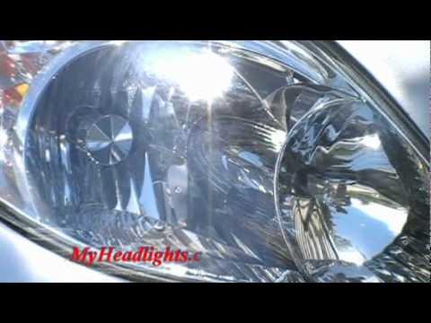 Open Road Acura on How Headlight Restoration Clean   Restore Toyota Matrix Yellow  Cloudy