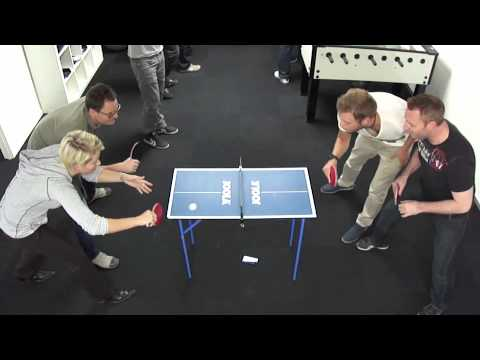 Mini Table Tennis Maybe The Best In The World Youtube